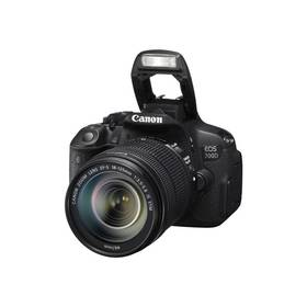 Canon EOS 700D + 18-135 IS STM (8596B039) černý + okamžitá sleva 2000 Kč! + Doprava zdarma