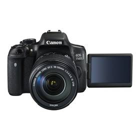 Canon EOS 750D + 18-135 STM (0592C032) černý Paměťová karta Kingston SDXC 64GB UHS-I U1 (90R/45W) (zdarma) + Doprava zdarma