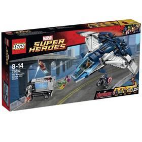 LEGO® Super Heroes 76032 Avengers #4: Městská honička s tryskáčem Avengers Quinjet + Doprava zdarma