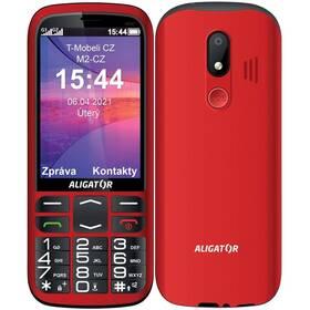 Aligator A830 Senior + stojánek (A830R) červený