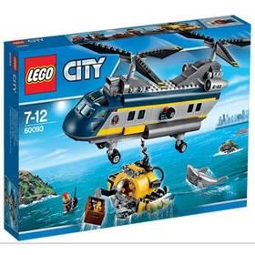 LEGO® City Deep Sea Explorers 60093 Vrtulník pro hlubinný mořský výzkum + Doprava zdarma