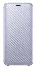 Pouzdro na mobil flipové Samsung Wallet Cover pro Galaxy J6 - levandulové (EF-WJ600CVEGWW) (poškozený obal 8918081788)
