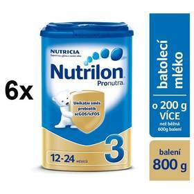 Nutrilon 3 Pronutra, 800g x 6ks + Doprava zdarma