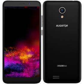 Mobilní telefon Aligator S5520 (AS5520BK) černý