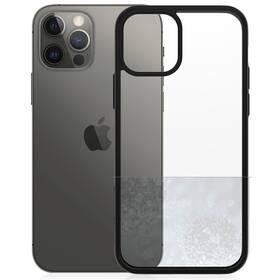 PanzerGlass ClearCase Antibacterial na Apple iPhone 12/12 Pro (0252) čierny/priehľadný
