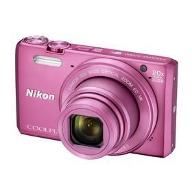 Nikon Coolpix S7000 + pouzdro růžový