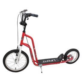 """LIFEFIT Rider 16""""/12"""" červená + Reflexní sada 2 SportTeam (pásek, přívěsek, samolepky) - zelené v hodnotě 58 Kč + Doprava zdarma"""
