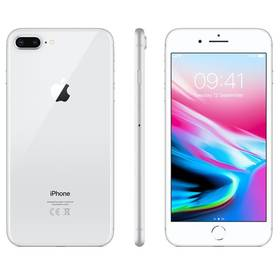 Apple iPhone 8 Plus 256 GB - Silver (MQ8Q2CN/A) + Doprava zdarma