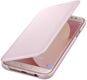 Samsung Wallet Cover pro J7 2017 (EF-WJ730C) (EF-WJ730CPEGWW) růžové