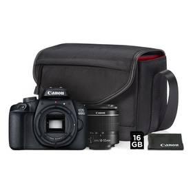 Canon EOS 4000D + 18-55 + VUK (3011C013) černý + Doprava zdarma