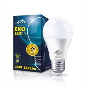 ETA EKO LEDka klasik, 15W, E27, teplá bílá (A60-PR-1521-16A) bílá + Doprava zdarma