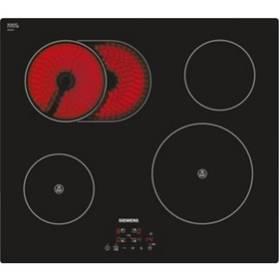 Kombinovaná varná platňa Siemens EH611BC17E čierna