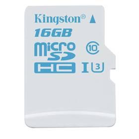 Kingston MicroSDHC 16GB UHS-I U3 (90R/45W) (SDCAC/16GBSP)