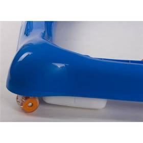 Chodítko detské Sun Baby Car modré