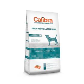 Calibra Dog Hypoallergenic Senior Medium & Large Chicken 14kg