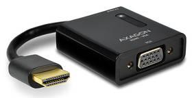 Axagon VGA / HDMI + audio výstup (RVH-VGA) čierna