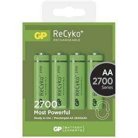 GP ReCyko+ AA, HR6, 2700mAh, Ni-MH, krabička 4ks (1032214130)