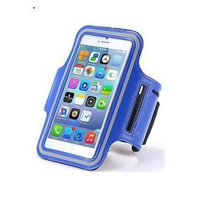 Pouzdro na mobil sportovní CellFish na ruku 3,5 - 4 (CELLARMI5SBLUE) modré (poškozený obal 8800252543)