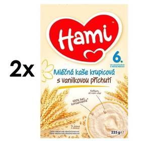 Hami krupicová s vanilkovou příchutí 6M, 225g x 2ks