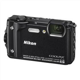 Nikon Coolpix W300 + 2 v 1 plávací popruh čierny