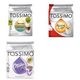 Tassimo Jacobs Krönung Latte Macchiato less sweet + Morning Café + Milka