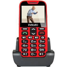 Evolveo EVOLVEO EasyPhone XD pro seniory (EP-600-XDR) červený Software F-Secure SAFE, 3 zařízení / 6 měsíců (zdarma)