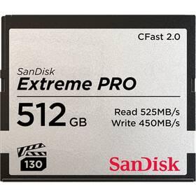 Sandisk Extreme Pro CFast 2.0 512 GB (525R/450W) (SDCFSP-512G-G46D)