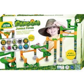Kuličková dráha Jungle - zelená/žlutá