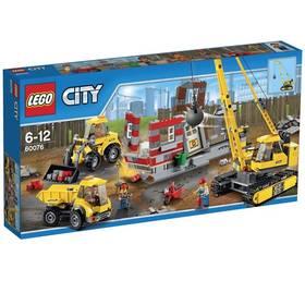 Lego® City Demolition 60076 Demoliční práce na staveništi + Doprava zdarma