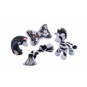 Nobby Startovací set pro psa 4ks čierna/biela