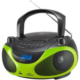 Radiopřijímač s CD Sencor SPT 228 BG černý/zelený (vrácené zboží 8919007085)