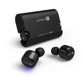 Connect IT True Wireless HYPER-BASS Bluetooth (CEP-9000-BK) černé + Doprava zdarma