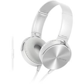 Sony MDRXB450APW.CE7 (MDRXB450APW.CE7) biela