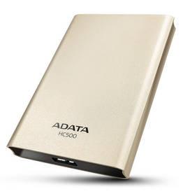 Externý pevný disk A-Data HC500 1TB (AHC500-1TU3-CGD) zlatý