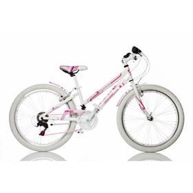 """Dino Bikes 24"""" dívčí 1024G-RU + Doprava zdarma"""