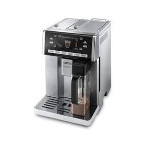 DeLonghi PrimaDonna Exclusive ESAM6900.M černé/stříbrné + K nákupu poukaz v hodnotě 2 000 Kč na další nákup + Doprava zdarma