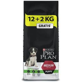 Granule Purina Pro Plan MEDIUM PUPPY 12 kg + 2 kg