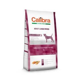 Calibra Dog Grain FreeAdult Large Breed Salmon 12kg + Antiparazitní obojek za zvýhodněnou cenu + Doprava zdarma