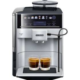 Siemens EQ.6 TE653311RW stříbrné Káva Jacobs DE L´OR BN FORTISSIMO ESPRESSO 500g (zdarma)+ Káva BIO zrnková Uganda 250 g Simon Lévelt v hodnotě 159 Kč + Doprava zdarma