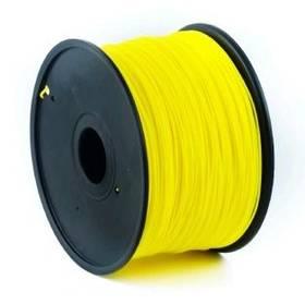 Tisková struna (filament) Gembird Tisková struna (filament) Gembird, ABS, 1,75mm, 1kg žlutá