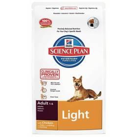 Hill's Canine Adult Light Chicken, 12 kg + Antiparazitní obojek za zvýhodněnou cenu + Doprava zdarma
