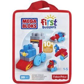 Stavebnica Mega Bloks First Builders autíčka 20ks