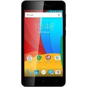 Prestigio Wize P3 Dual SIM (PSP3508DUOBLACK) černý + Software F-Secure SAFE 6 měsíců pro 3 zařízení v hodnotě 999 Kč jako dárek + Doprava zdarma