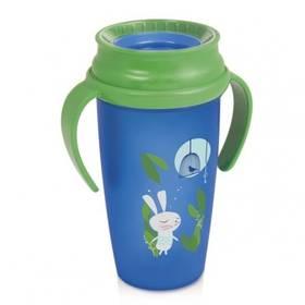 LOVI 360 ACTIV Rabbit s úchytky 350 ml zelený