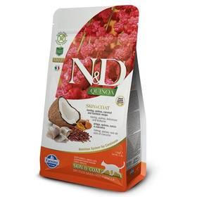 N&D Grain Free Quinoa CAT Skin&Coat Herring & Coconut 1,5 kg