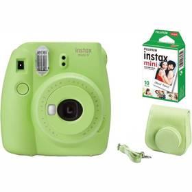 Fujifilm Instax mini 9 + púzdro zelený