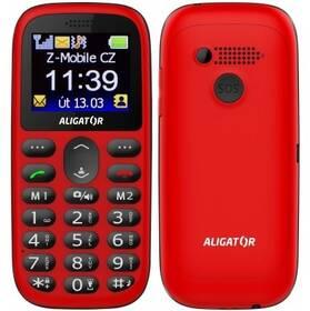 Aligator A510 Senior (A510RB) černý/červený (vrácené zboží 8800996703)