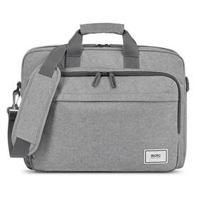 "SOLO NEW YORK RE:New Briefcase na 15,6"" (UBN127) sivá"