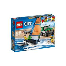 LEGO® CITY® Great Vehicles 60149 4x4 s katamaránem