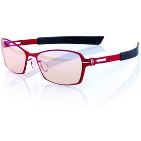 Arozzi VISIONE VX-500, jantarová skla (VX500-5) čierne/červené